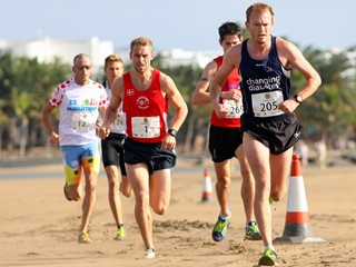 international running challenge beach run